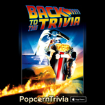 PopcornTrivia Promotional BTTF Apple