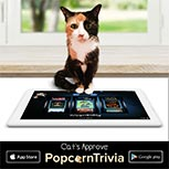 PopcornTrivia Promotional Cat Approved